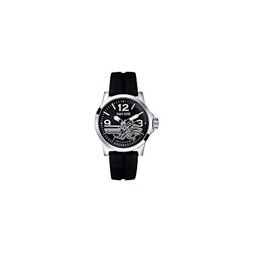 Marc Ecko Reloj Análogo clásico para Hombre de Cuarzo con Correa en Silicona E08503G1
