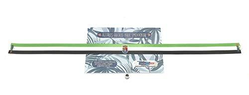 Pulseras de tela con mensaje: BANDERA DE LA COMUNIDAD AUTÓNOMA DE EXTREMADURA | Regalo original