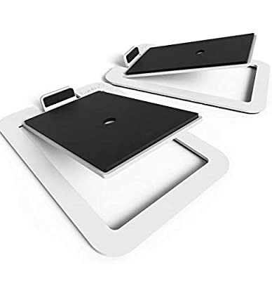 Kanto S4W Desktop Speaker Stands Midsize White by Kanto