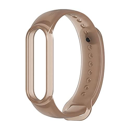 Correa de repuesto para Mi Band 6/5/4/3 de silicona, extensible, compatible (color: 23, tamaño: For Mi Band 5 6)