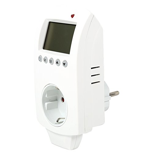 Controlador de Temperatura Digital Controlador de Temperatura, termostato de Salida programable, programable para Calentador de Alfombra térmica(European regulations)