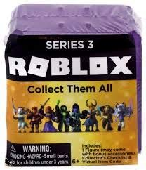 rblox Roblox Celebrity Mystery Figure Series 3