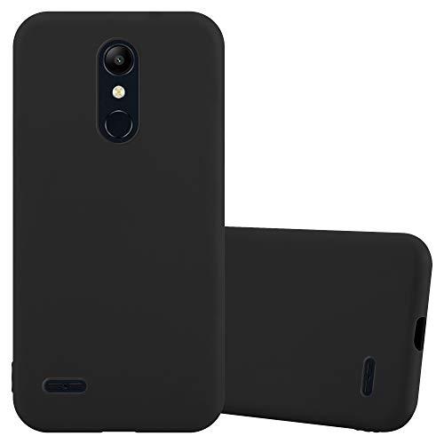 Cadorabo Funda para LG K11 2018 / K11 Plus en Candy Negro - Cubierta Proteccíon de Silicona TPU Delgada e Flexible con Antichoque - Gel Case Cover Carcasa Ligera