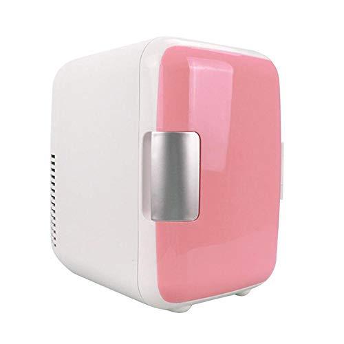 Mininevera portátil de 5 l, 12 V, 120 W, para el coche, barco o oficina rosa