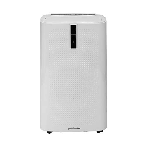 Jack Stonehouse Conditioning Unit Portable Air Conditioner, 12000BTU, Mobile Cooling, Dehumidifying, for Homes/Offices up to 26m2, Remote Control + Timer, White