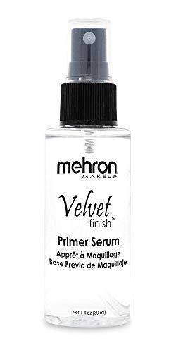 Mehron Makeup Velvet Finish Pre-Foundation Skin Primer (1 oz)