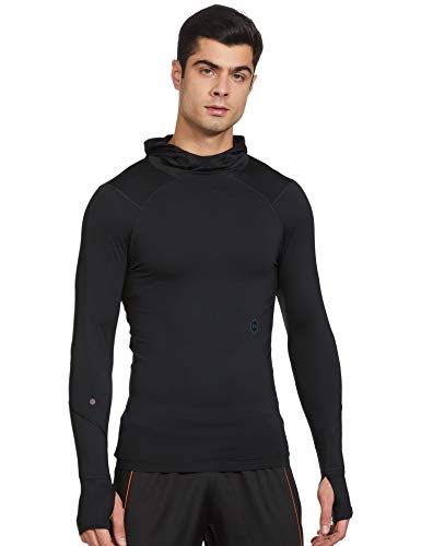 Under Armour Herren UA Rush Compression Scuba Kurzarmshirt, Schwarz, XL