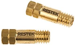 RESTEK 21878 Capillary Column Nut for Use with Compact Agilent Style Ferrule, Brass (Pack of 2)