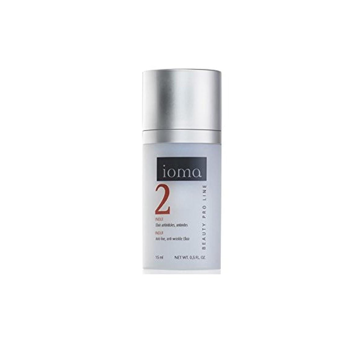 スラッシュモック完了Ioma Anti-Wrinkle Moisture Elixir 15ml (Pack of 6) - 抗しわ水分エリキシルの15ミリリットル x6 [並行輸入品]