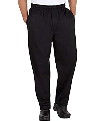 Best manufuctures Mens Traditional 100% Cotton Baggy Chef Pant