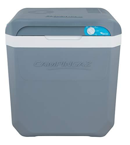 Campingaz Powerbox Plus Thermoelektrische 12V/230 V Kühlbox, Hochleistungs-Kühlbox Auto, mit UV Schutz, 24 Liter