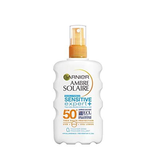 AMBRE SOLAIRE - Spray Safeguard Se+ Adultes Fps 50+ 200Ml - Lot De 2 - Livraison Gratuite