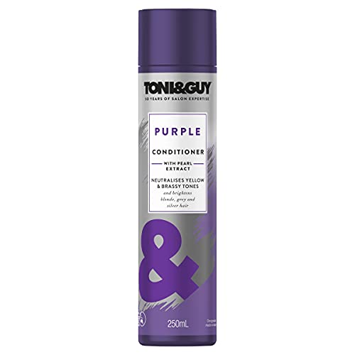 Toni & Guy Purple Conditioner For Blonde Hair, 250ml