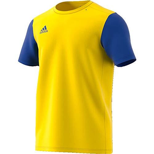 adidas Estro 19 Jersey Camiseta, Hombre, Yellow/Bold Blue, M