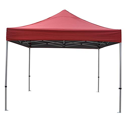 Gazebo Covers Replacement 3x3,Outdoor Heavy Duty Waterproof Durable Gazebo Canopy Replacement Covers 3m X 3m for Courtyard Garden Backyard(only Cover)