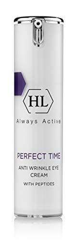HL Holy Land Cosmetics Perfect Time Anti Wrinkle Eye Cream with Caffeine, Soybean, .5 fl.oz
