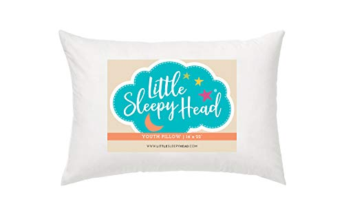 Youth Pillow - 16 X 22 - Soft & Hypoallergenic - Made in USA -...