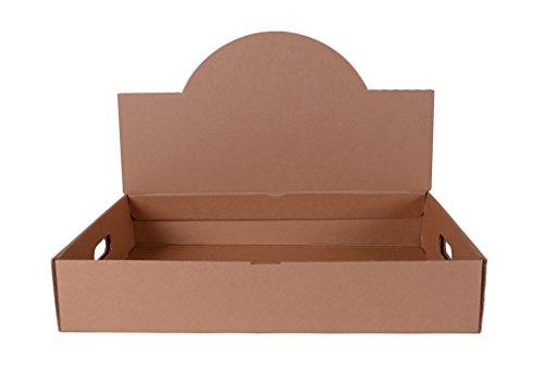 Southern Champion Tablett 1188Wellpappe Cabrio Pop Up Catering Tablett, 21–1/5,1cm X 14–5/20,3cm X 15–3/20,3cm mit Top Display OPEN (Fall 25Stück)