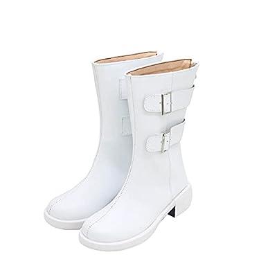 Tokyo Revengers Manjiro Sano Ken Ryuguji Cosplay Shoes Boots Costume Prop (Numeric_9) White from