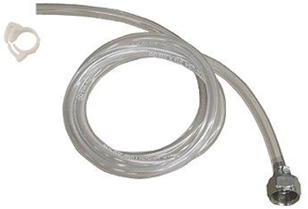 10 Feet Of 3 16 Clear Beer Line With Hexnut Assembly
