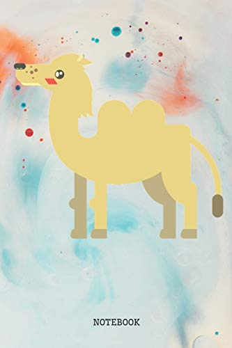 Notebook: Funny Desert Camel Planner / Organizer / Lined Notebook (6
