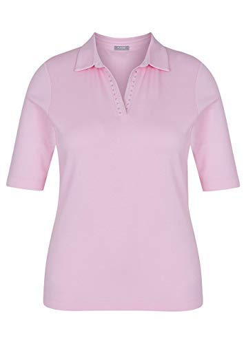 Rabe, sportlich Elegantes Polo Shirt Farbe Pfingstrose, Größe 50