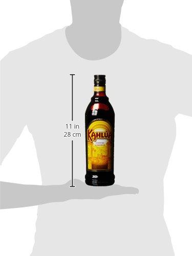 Kahlúa Coffee-Likör – Aromatischer Kaffee Likör mit Noten von Karamell & Vanille – Ideal pur, in Kaffeeheißgetränken oder Cocktails wie White Russian – 1 x 0,7 L - 3