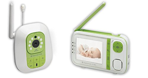 Audioline, Watch und Care V160, Video-Babyphone mit Nachtlicht und Gegensprechfunktion