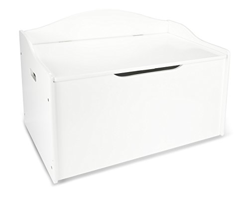 Kindertruhenbank, Behälter für Spielzeug, Sitzbank mit Stauraum für Spielsachen, 68x42x46cm - 2
