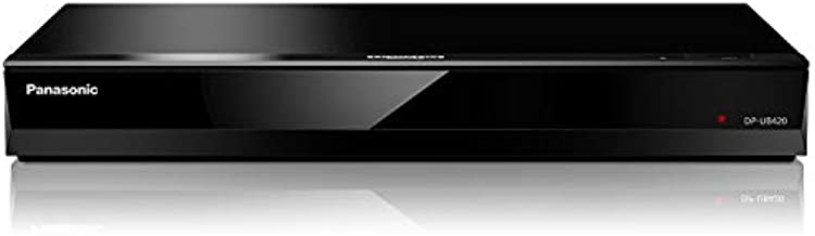 Panasonic Streaming 4K Blu Ray Player, Ultra HD Premium Video Playback with Hi-Res Audio, Voice Assist - DP-UB420-K (Black)