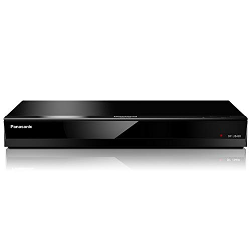 Panasonic 4K Ultra HD Blu-ray Player with HDR10, HDR10+ and Hybrid Log-Gamma (HLG) Playback, Hi-Res Sound, 4K VOD Streaming and Voice Assist - Black (DP-UB420)