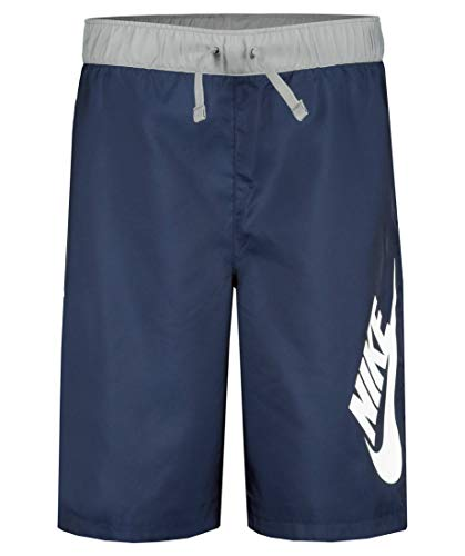 Nike Kinder Sportswear Woven Short Midnight Navy-Particle L