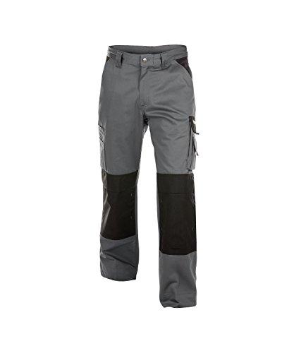 42+ Dassy Pantalon de Travail Boston Gris-Noir