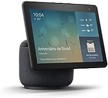 """Echo Show 10: Smart Display HD de 10,1"""" com movimento e Alexa - cor Preta"""