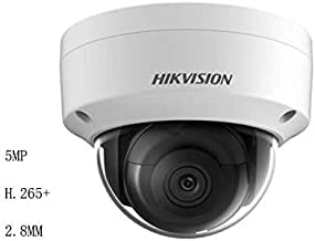 Hikvision 5MP Dome Camera DS-2CD2155FWD-IS 2.8mm 5MP Mini IR Fixed Dome Network Camera Ultra-Low Light 3-axis POE IP67 ONVIF English Version IP Camera