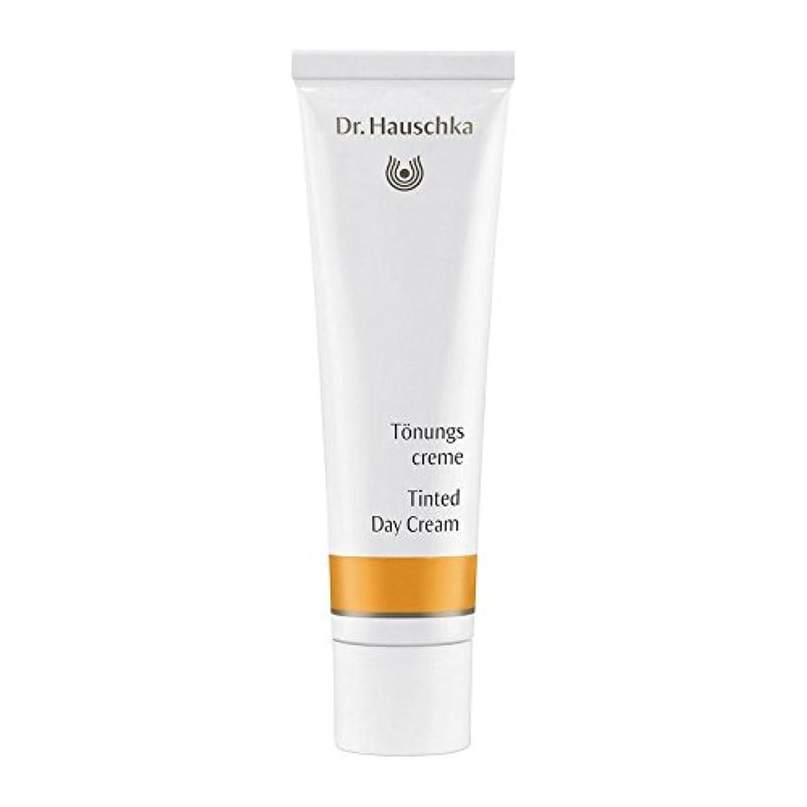 クッションミシン目インクハウシュカ着色デイクリーム30 x2 - Dr. Hauschka Tinted Day Cream 30ml (Pack of 2) [並行輸入品]