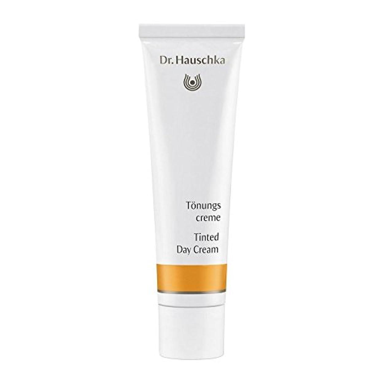 の面では簡略化する取り出すハウシュカ着色デイクリーム30 x4 - Dr. Hauschka Tinted Day Cream 30ml (Pack of 4) [並行輸入品]