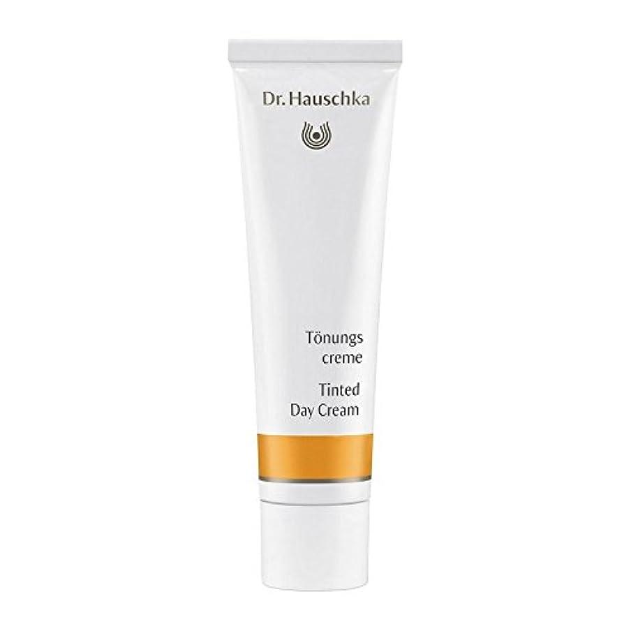 ハンバーガー修士号楕円形Dr. Hauschka Tinted Day Cream 30ml (Pack of 6) - ハウシュカ着色デイクリーム30 x6 [並行輸入品]