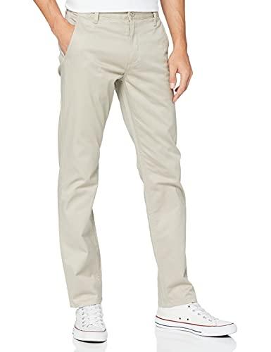 Dockers Alpha Original Khaki Slim Stretch Twill Pantalones, Safari Beige 0431, 34W / 34L para Hombre