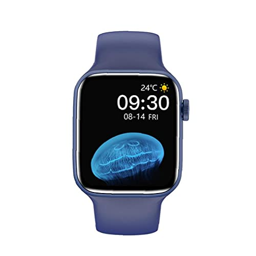 Smart Watch-Vollbild-Berührung wasserdichtes Armband Fitness Health Assistant Blue