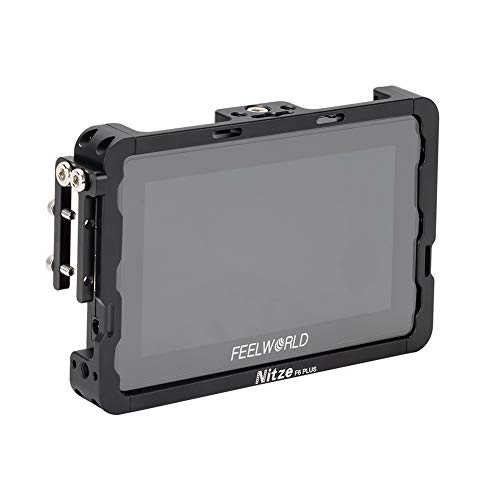 "Nitze 5.5 ""Monitor Cage für Feelworld F6 Plus Monitor mit HDMI Kabelklemme - TP-F6PLUS"
