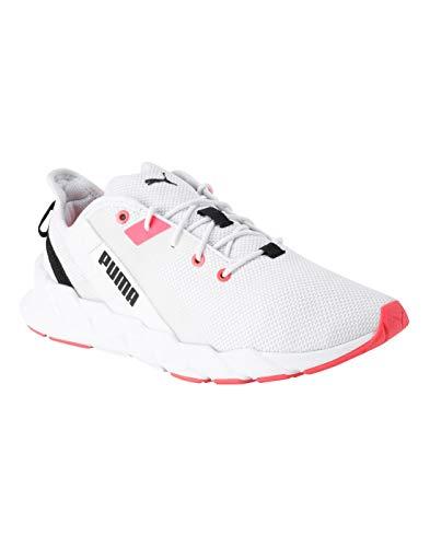 Puma Damen Weave XT WN's Hallenschuhe, Weiß White-Pink Alert 05, 41 EU