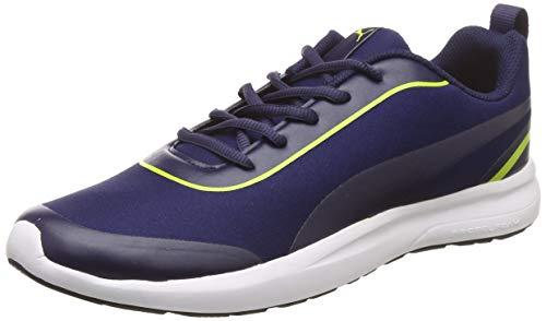 Puma Men's Peacoat-Limepunch Sneakers-8 UK/India (42 EU) (4060978174017)