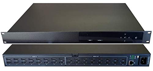 16x16 HDMI 4K Matrix SWITCHER HDCP2.2 HDTV Routing Inputs Outputs SELECTOR SPDIF Audio CONTROL4 Savant Home Automation