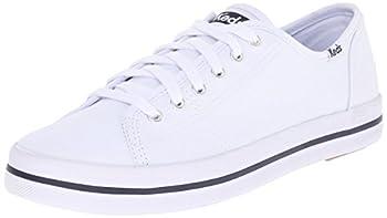 Keds womens Kickstart Seasonal Solid Sneaker White 8.5 US