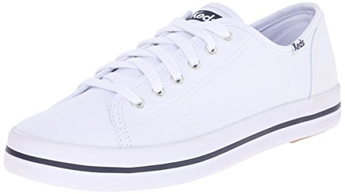 Keds Women's Kickstart Fashion Sneaker,White,9.5 M US