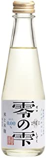 ノンアルコール純米酒テイスト飲料「零の雫(ぜろのしずく)」