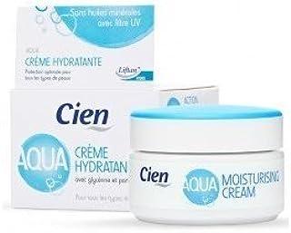 comprar comparacion Crema Cien Aqua Hidratante con Glicerina y Pantenol, con filtro UV - 50 ml