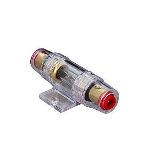 Fielect in-line Fuse Holder with 60 Amp ANL Fuse for Automotive Car Vehicle Audio Amplifier Inverter