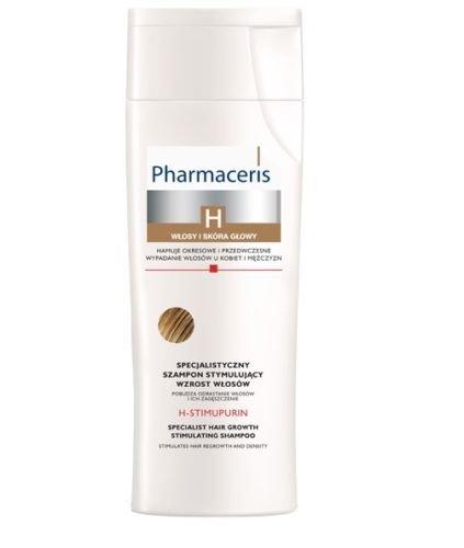 of stimulate for skin hairs Pharmaceris H-STIMUPURIN - hair growth shampoo 250ml WE GOOD SKIN